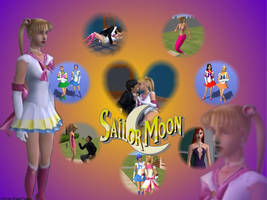 Sailor Moon : from the sims2 by kaitomizuno
