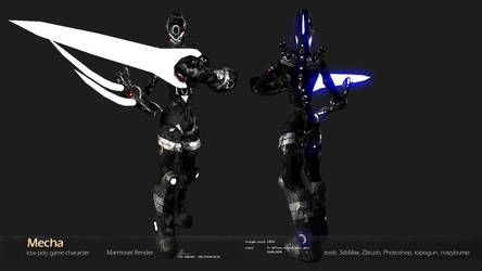 Mecha:Summoner Class Character by Warl