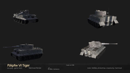 Pzkpfw VI Tiger by Warl