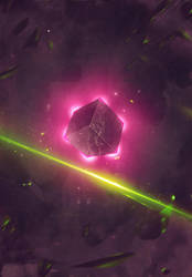 PLANET CUBE N YOUR METEOR by design-yse