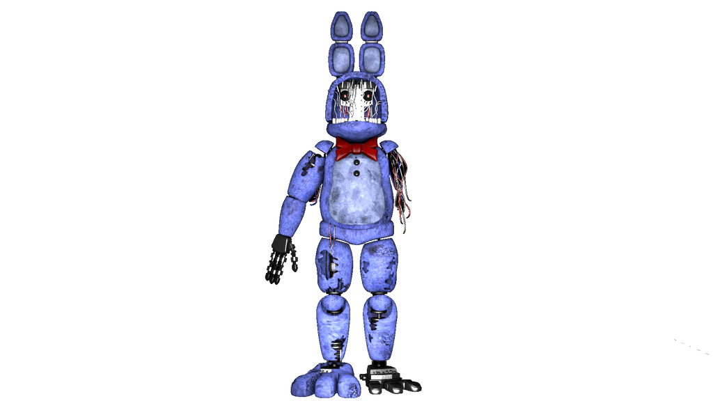 Fnaf 2 Withered Bonnie png by Y-MMDere on DeviantArt