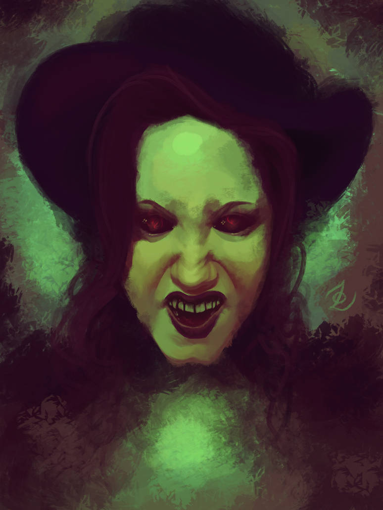 Wicked Witch by r0tterz
