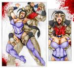 Goro Sacrifice Kitana by MKryona5051
