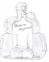 Martian Queen as a blueberry by Openminded20