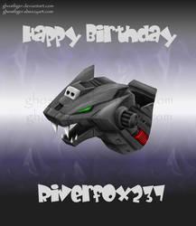 Birthday gift for Riverfox237 by GhostLiger