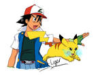 Pikachu, I choose you! (Now available on T-shirt) by GhostLiger