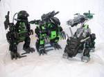 The Dark Zoid army by GhostLiger