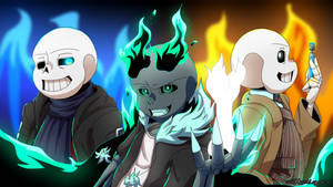 'Cause we're burning bright as we all unite. by GhostLiger