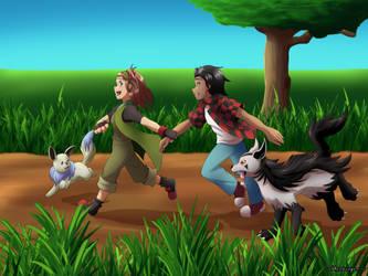 Pokemon Let's Go Jack!! [Gift] by GhostLiger