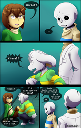 Curiousity Pg30 by GhostLiger