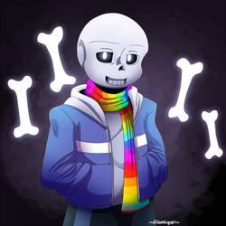 Refuse!Sans [Gift] by GhostLiger