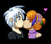Pixel Kiss! by GhostLiger