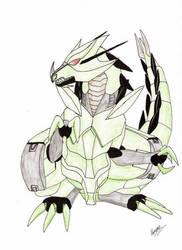 Ralts the Organoid by GhostLiger