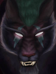 Night Elf Feral Druid (Complete) by DiamondDust-DA
