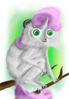 Sweetie le primate by khajiit4444