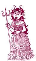 Feferi, Princess of Alternia by rincewindmog