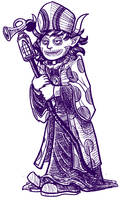 Gamzee, Archbishop of Miracles by rincewindmog