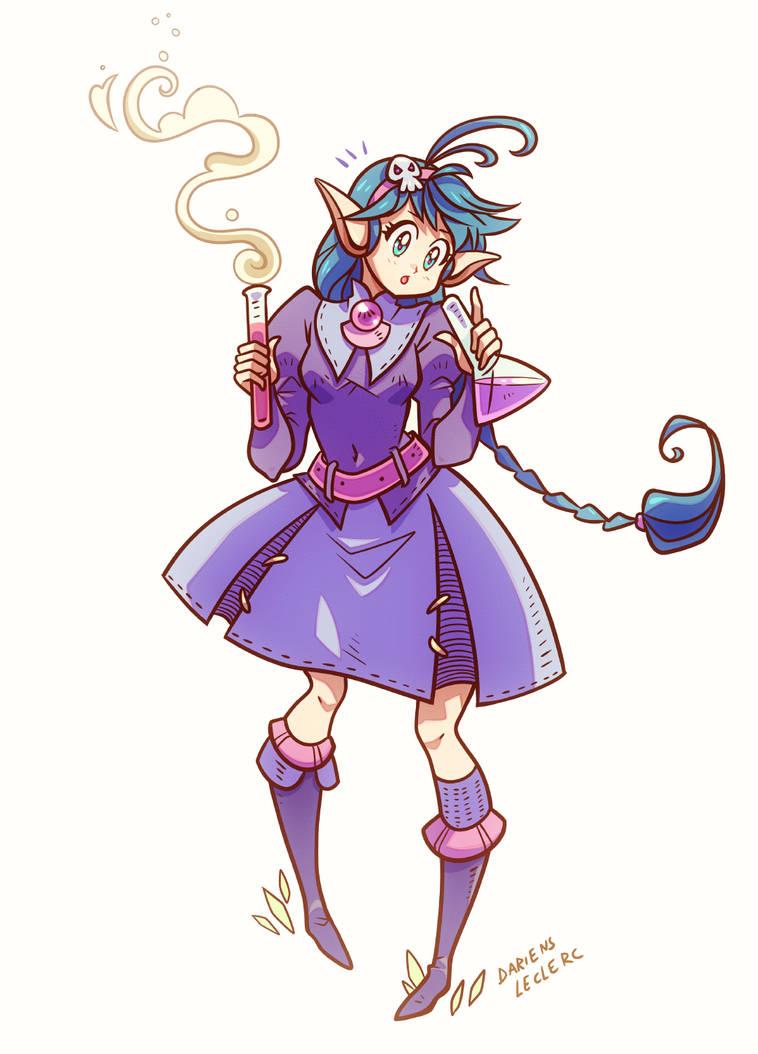 Chemistry Witch by Magochocobo
