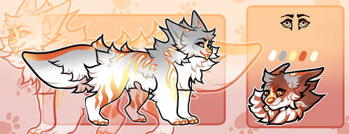 A Fire Within- OPEN FLATSALE DOG by Bettalong