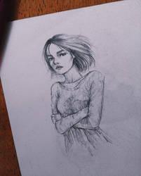 tiny sketch by maenasheryn