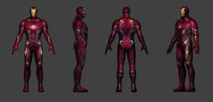 Iron Man Infinity War Retexturized by carlosgremio86