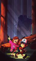 Gravity Falls by yosilog