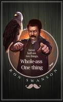 Ron Swanson by yosilog