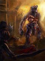 Arena master by Skulio