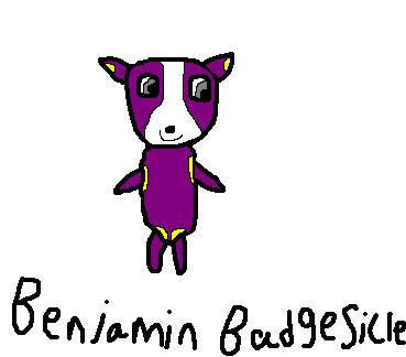 My Viva Pinata Oc Benjamin Badgesicle By Priveto4ka On Deviantart