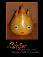 Calcifer sculp by Di-Gon