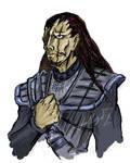 Zaraki the Klingon by Hellga-Z