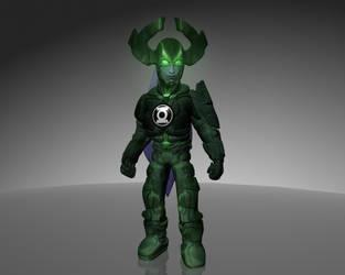 Green Lantern Proxima Midnight by dead82