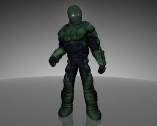 Heavy Armor Lex Luthor by dead82