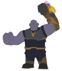 Wreck It Thanos by dead82
