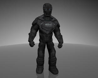 All New Armored Superman by dead82