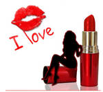 Red lipstick by LarisaAnahati