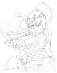 Elven Archer by KazumaGuy