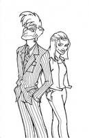 Doctor and Rose by louisesaunders