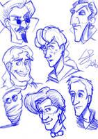 Sketchdump2 by louisesaunders