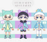 Adoptable: Cute Babes Set Price [CLOSED] by amepan