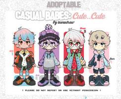 Adoptable: Casual Babes Batch Cute Cute 2 [CLOSED] by amepan