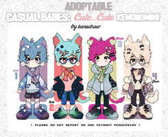 Adopt:CB Cute Cute Kemonomimi [1 LEFT] by amepan