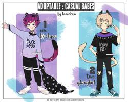 Adopt: Casual Babes Fullbody [Closed] by amepan