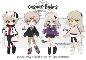 adopt: casual babes new batch [closed] by amepan