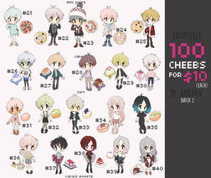 adopt challenge:100 cheebs for $10 Batch 2 (open) by amepan