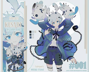 Adopt: Kusari Species 001 (auction open) by amepan