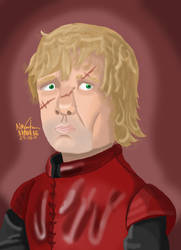 Tyrion Lannister - Game of Thrones Fan Art by nmonag