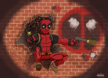 Deadpool by nmonag