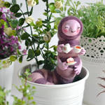 OOAK Miniature Caterpillar by falauke