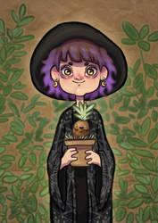 Garden Witch by falauke